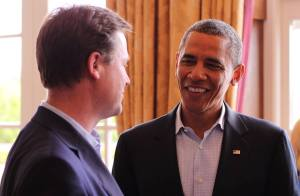 Clegg and Obama