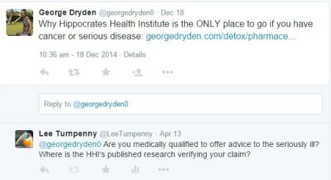 Dryden tweet response