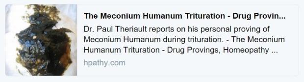 DrPaul Meconium humanum